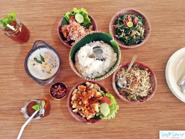 Menu di Restoran Bale Udang Mang Engking Kuta Bali