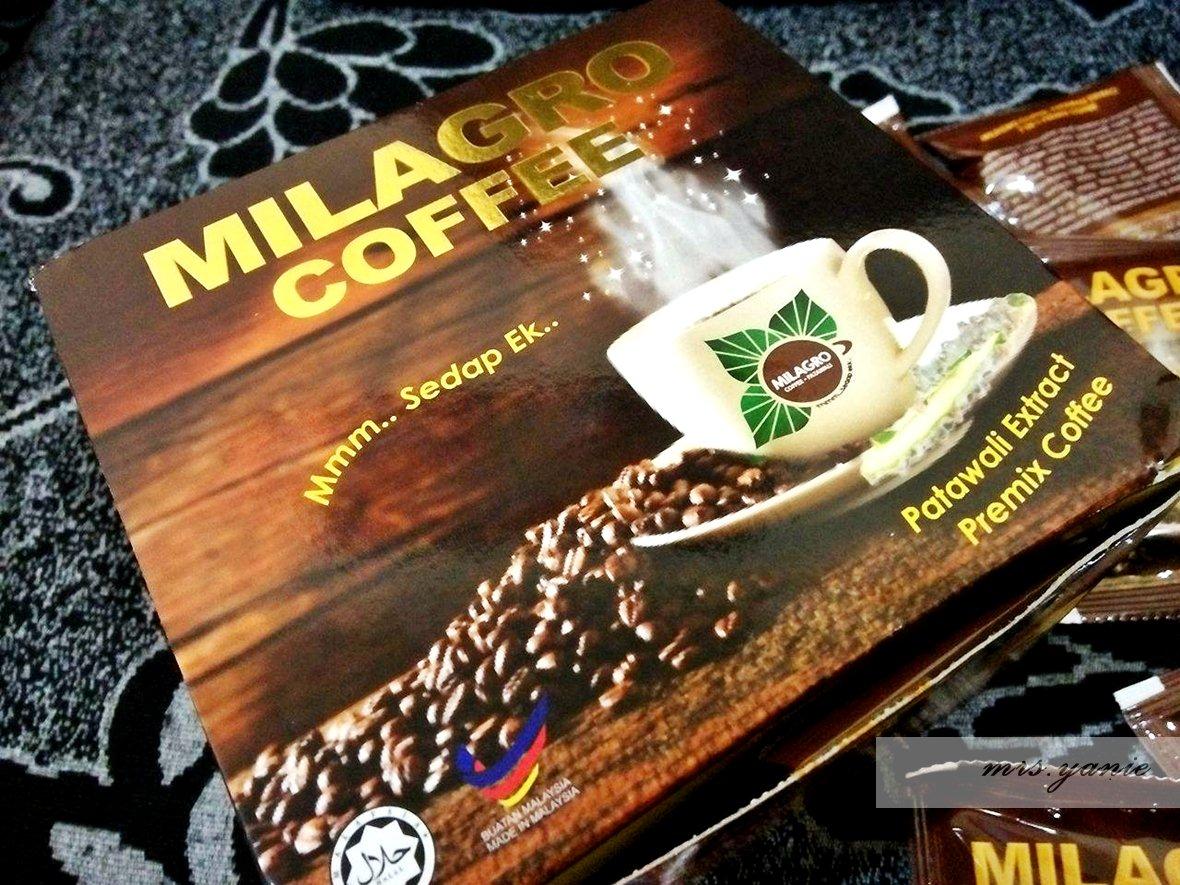 Milagro Coffee Herba Patawali Minuman Kesihatan