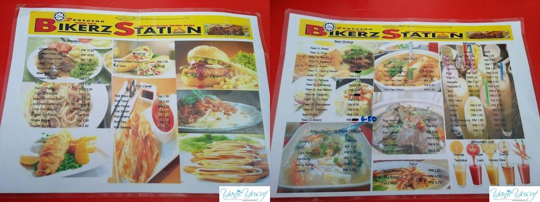 Restoran Bikerz Station Tanjung Malim