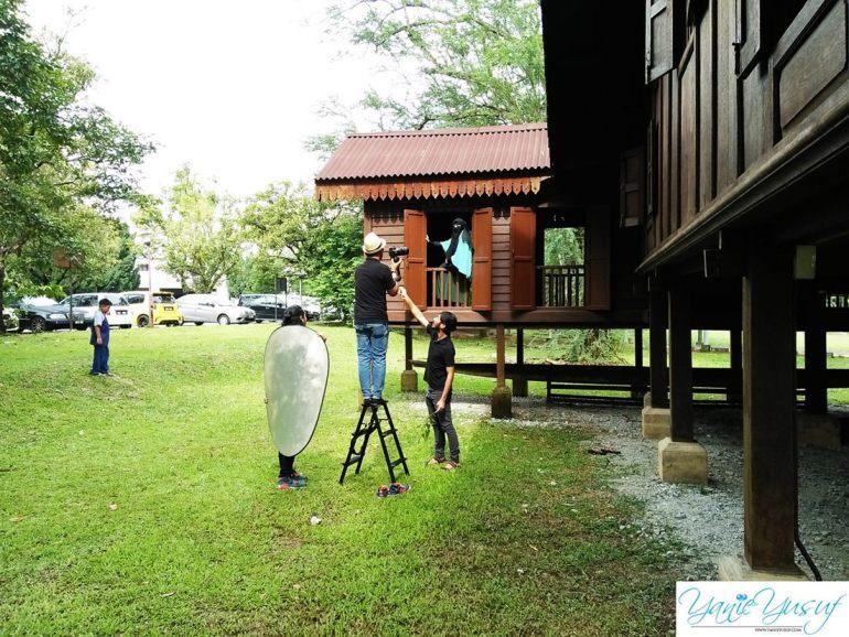 Photoshoot Raya Bersama Wan Izhar Jurugambar Professional