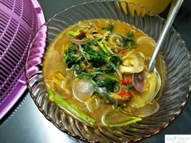 Kangkung Tumis Cili Padi + Ikan Bilis