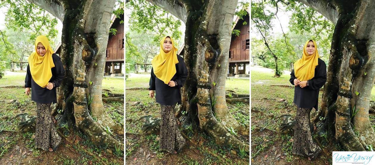 Hasil Makeup Artis Profesional Siti Nur Fatehah Cantik
