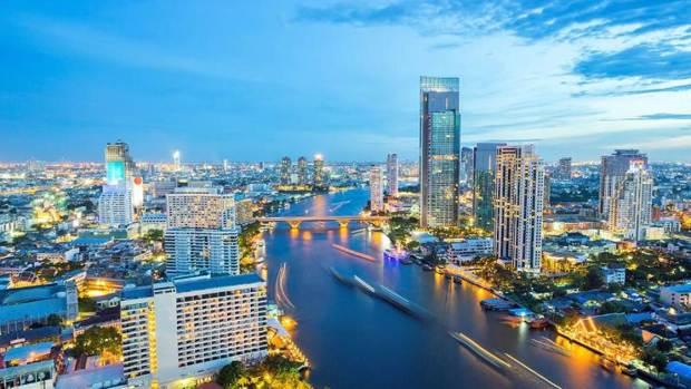 Bangkok Thailand Lokasi Shopping Terbesar