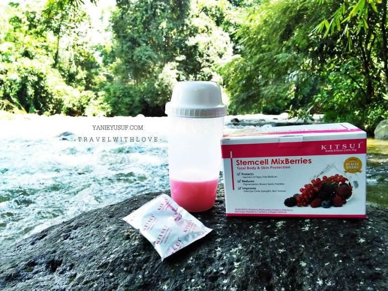 KITSUI Stemcell MixBerries Merawat Secara Semulajadi
