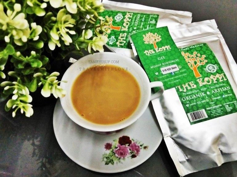 TheKoppi rasa sebenar aroma kopi organik