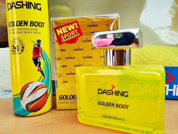 Deodoran Semburan Badan dan Eau De Toilette Golden Boot