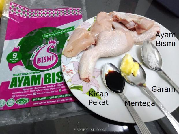 Resipi Ayam Bismi Masak Thai Madu