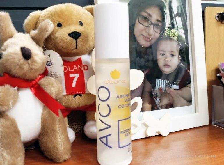 AVCO D'Aura Beri Manfaat Untuk Rambut Dan Kulit