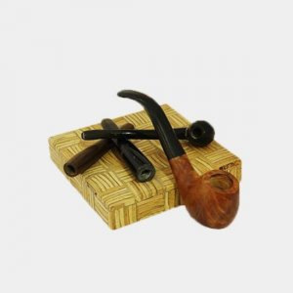 Water Buffalo Horn Handicrafts - Cigarette Pipe