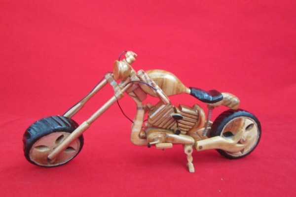 Bamboo Handicraft Product - Harley Davidson Motor From Indonesian Bamboo