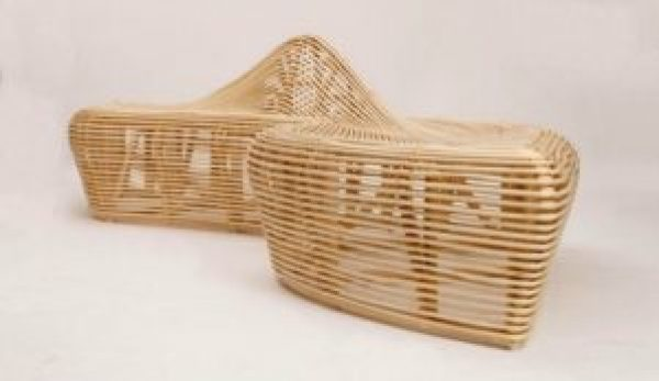 Natural Bamboo Handicrafts - BEnch