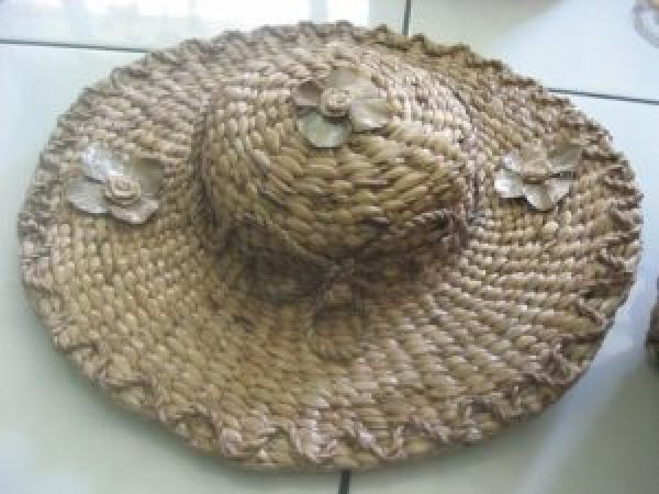 Water Hyacinth Hat From Bromo Indonesia