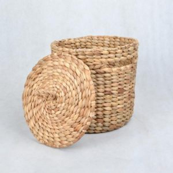 Buy Water Hyacinth Basket From Indonesia