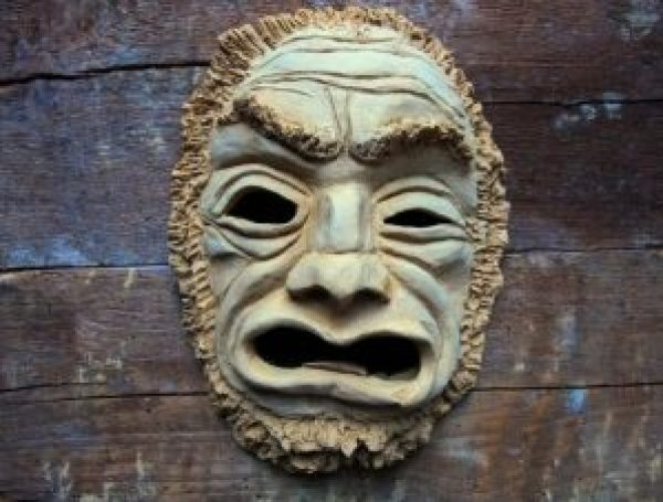Indonesian Terracotta Pottery Products - mask