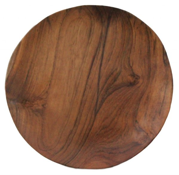 Teak Wooden Plate Indonesia - Homeware Kitchenware from Teak Wood