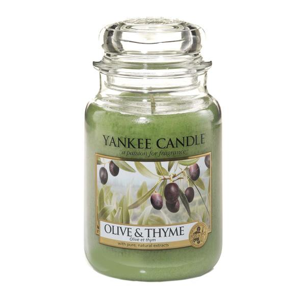Olive and Thyme Large Classic Jar