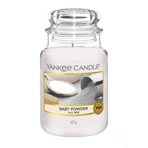 Yankee Candle Baby Powder Large E
