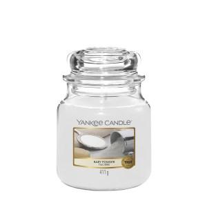 Yankee Candle Baby Powder Medium