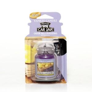 Yankee Candle Car Jar - Lemon Lavender Fragrance