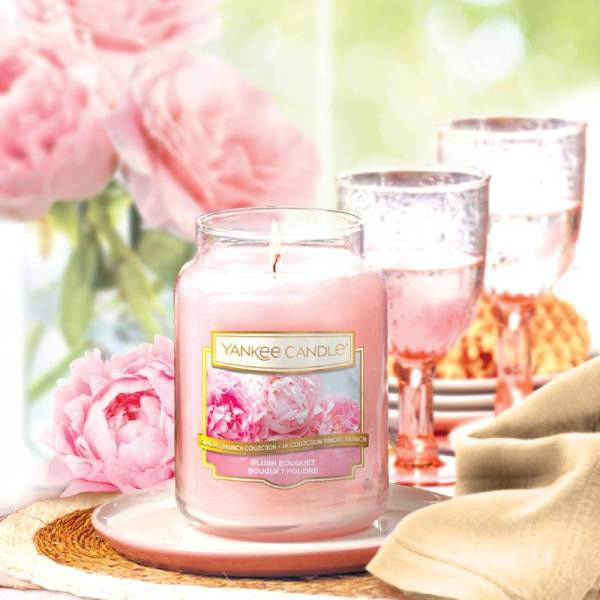 Blush Bouquet Yankee Candle - Photo 1
