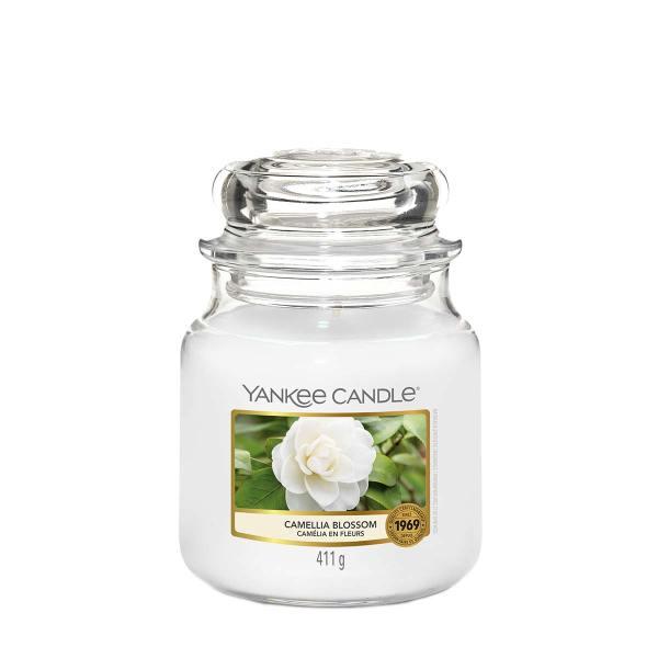 Camellia Blossom Medium Classic Jar cleaned