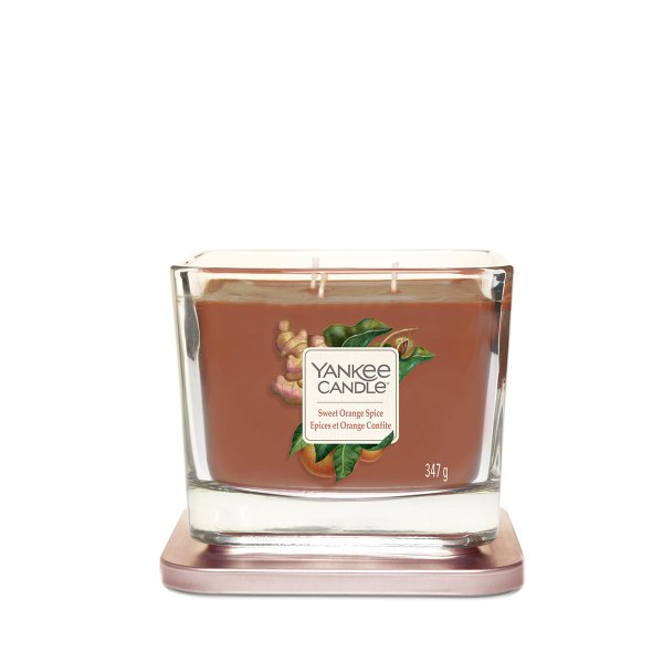 Sweet Orange Spice Medium Elevation lid