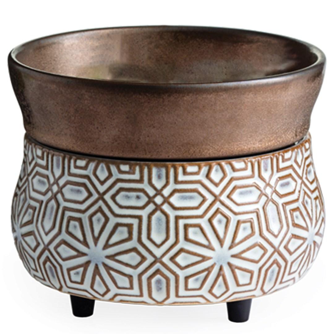 Bronze Wax Warmer