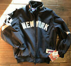 NWT New York Yankees Authentic Collection Majestic Full Zip Sz L Jacket Coat