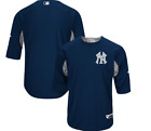 NY Yankees Majestic Authentic Collection On-Field Batting Practice Jersey