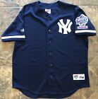 Vintage New York Yankees 1998 World Series Champions Majestic Jersey Blue XL MLB