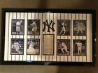 New York Yankees Captain Framed Display