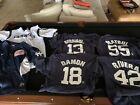 🔥6 New York Yankees Nike Dri Fi jerseyst/ Team T ShirtsXL