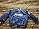 New York Yankees Starter Satin Quilted Jacket Diamond Collection Sz 2XL