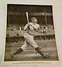 Vintage BABE RUTH Quaker Oates Premium 8×10 Photo Yankees HOF 1934 Fan Club MLB