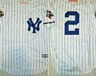 New York Yankees Derek Jeter Retro Pinstripe Mens Medium Replica Baseball Jersey