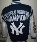 NEW YORK YANKEES Time World Series Championship Cotton Jacket S M L XL 2X