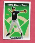 1993 Topps # 98 Derek Jeter Rookie – EXMT – Yankees