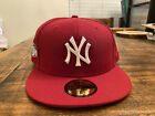 New York Yankees 2011 All Star Game Dark red velvet pink uv New Era Fitted 7 3/4