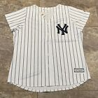 New York Yankees Majestic Cool Base Women's Jersey Pinstripes size XXL