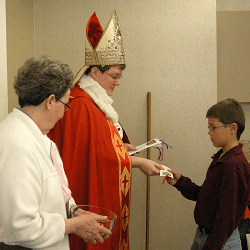 Yankton Benedictines Praying In Colors Children St Nick