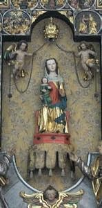 Our Lady of Rickenbach in the pilgrimage chapel at Maria Rickenbach.