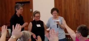 Residential Volunteer Blessing Yankton Benedictine Sacred Heart Monastery Sisters