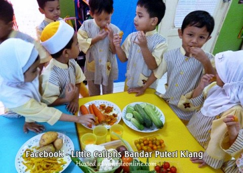 vegetables party little caliphs bandar puteri klang