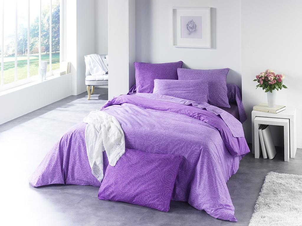 Prise de vue linge de lit