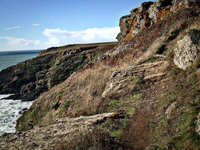 Sur les sentiers côtiers de l'île de Groix