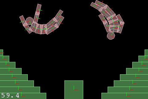 Box2D Ragdoll Example Screenshot