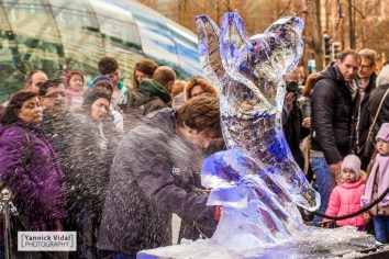 Reportage (Ice Sculpting Festival, London)