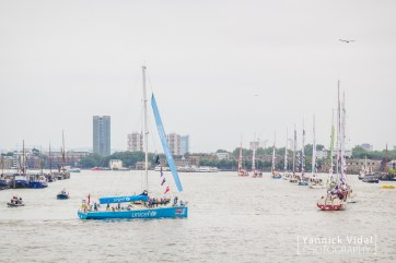 The 12 boats on the Thames