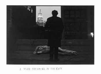 Duane Michals A Man Dreaming in the City, 1969