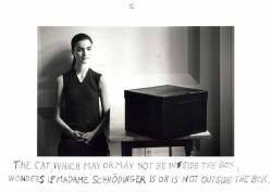 Duane Michals Dr. Heisenberg's Magic Mirror of Uncertainty, 1998 e